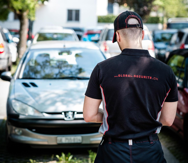 parking surveillance sécurité